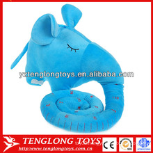 Hot sale baby growth record plush stuffed elephant toy 120cm Height Charts