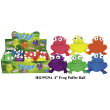 Funny 4inch Frog Puffer Ball Toy