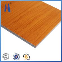 Panel compuesto de aluminio de madera