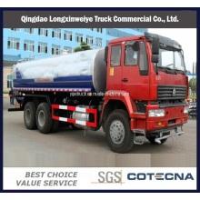 Carro del tanque de agua de la regadera pesada de Sinotruk HOWO 4X2 10cbm