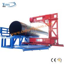 Máquinas de corte com serra de fita para tubos de plástico HDPE
