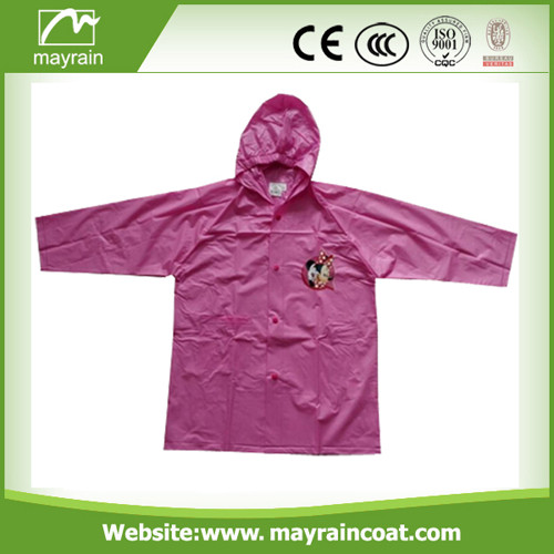 Non - Disposable Kid' s Raincoat