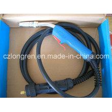 Binzel MB 25ak with Trafimet Handle Complete MIG Torch for Welding