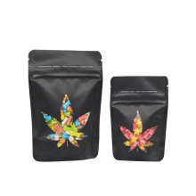 Custom Eco Clear Printed Weed Mylar Smell Proof bags with zipper  Proof Cookie Packaging Plastic Mylar Weed Bags