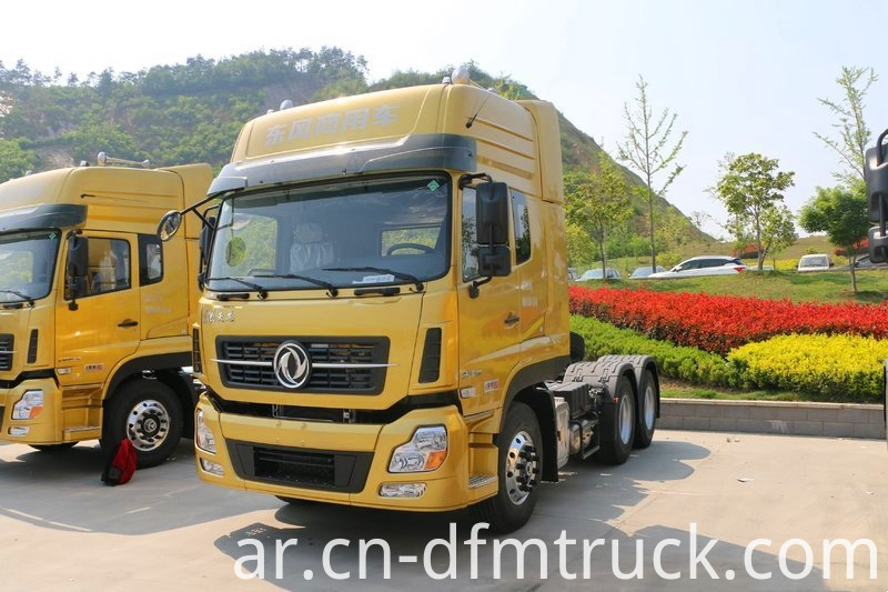Dongfeng Commercial Vehicle Kl Heavy Duty Truck 520 Hp 6x4 Tractor Truck