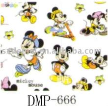 mehr als fünfhundert Muster Druckstoff mickey-mouse