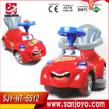 China wholesale steering wheel children car Lovely With Music Kids Ride On Car Electric With Light HT-5512