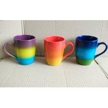 Taza del color del arco iris, taza del color del aerosol