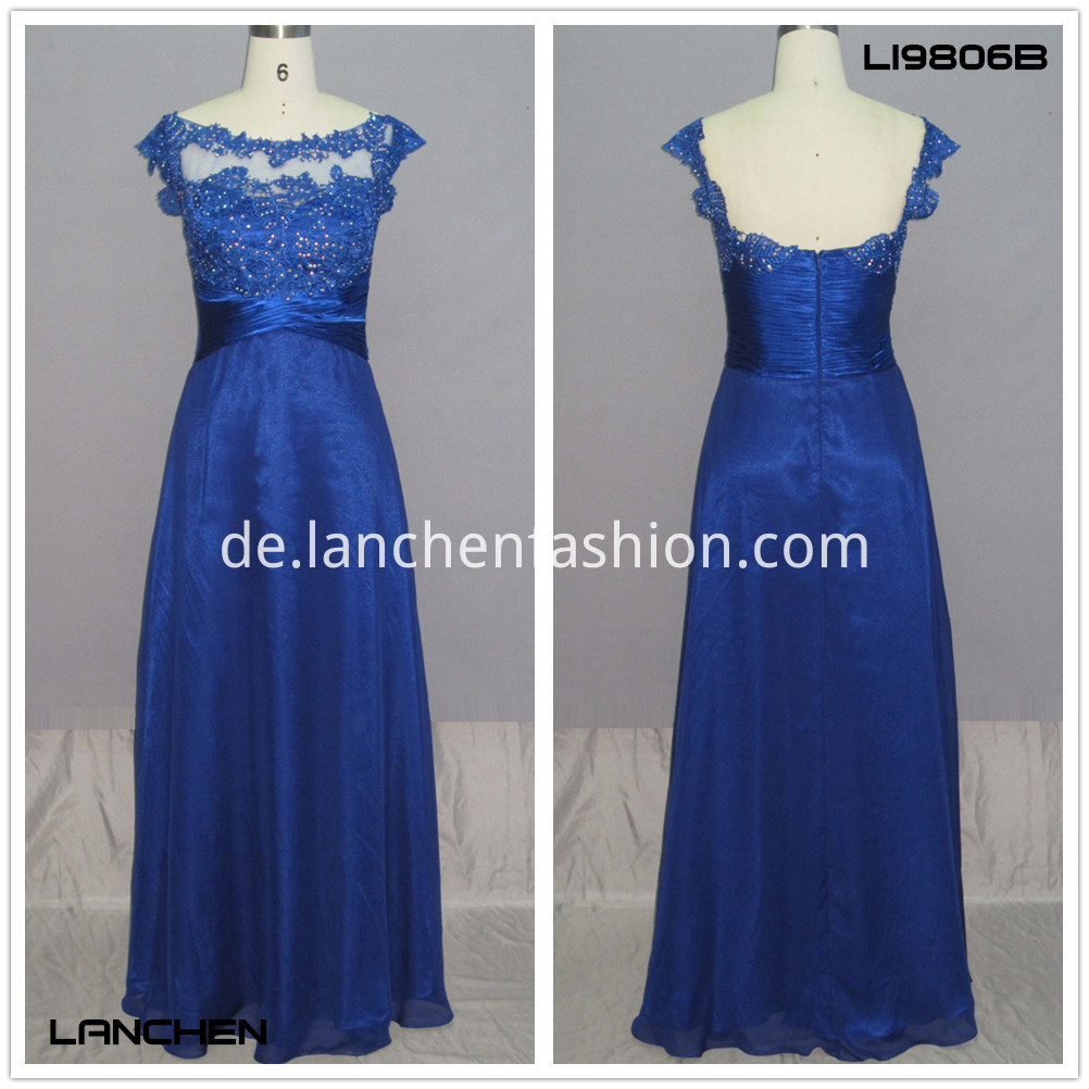Long Gown Dress royal