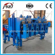 Máquina de laminação de rolo de folha de parede ondulada de silo de aço galvanizado