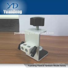 custom made high quality steel G shape bedside tablet bracket clamp adjustable