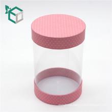 Custom packaging clear PVC transparent plastic paper box