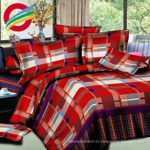 hermosa casa textil reactiva impreso juegos de sábanas