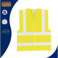 Policía de Transporte 100% chaleco de seguridad reflectante de alta visibilidad