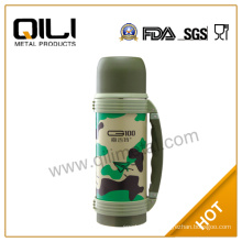 1000ml stainelss steel vacuum flask thermos bottle outdoor