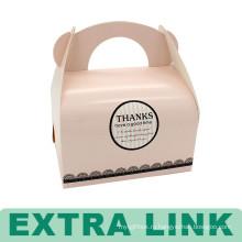 Новый Дизайн Простой Коричневый Крафт-Прекрасный, Отличный Торт Коробка