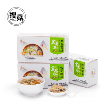 Chinese flavor freeze dried instant mushroom soup