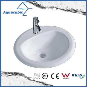 Cuenca del baño sobre el fregadero de cerámica del contador (ACB005)