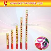 Le prix usine font de grands canons de confettis et de fête Popper pour la décoration