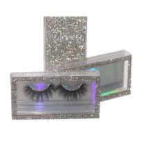 F130BH Hitomi Luxury Siberian Mink Eyelash Long Eyelash soft natural mink eyelashes Fluffy 25mm Magnetic Mink Eyelashes