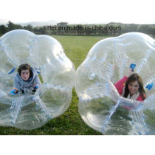 Hot! ! 2016 Best Selling Ce TPU/PVC Human Inflatable Bumper Bubble Ball for Outdoor Sports