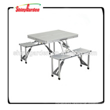 Portable Folding Camping Aluminium Table With Chairs