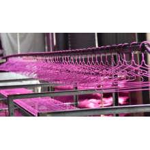 PVC getauchte Kleidung Metall Kleiderbügel