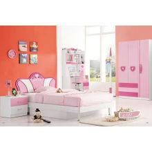 Crianças quarto Sets, Kd móveis, cama de MDF (L121)