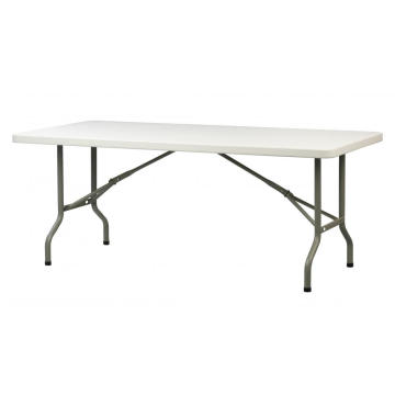 Mesa plegable rectangular de 6 pies
