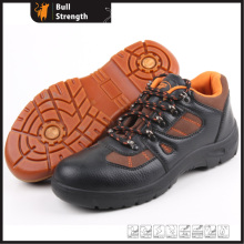 Industrial Leather Safety Shoes with Steel Toe and Steel Midsole (SN5255)