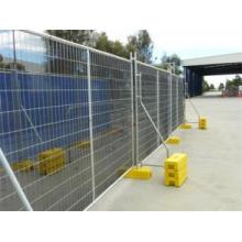 Baustelle Gebraucht Bewegliche Stahl Temporäre Zaun Panel