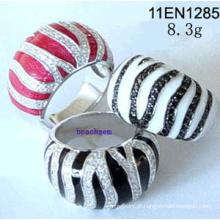 Zircônia cúbica-anéis de prata Joias (11EN1285)