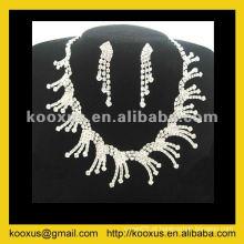 Artificial Tree leaf Jewellery set