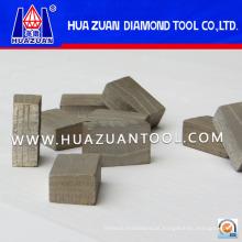 Bons segmentos de diamante de mármore de corte rápido (hz318)