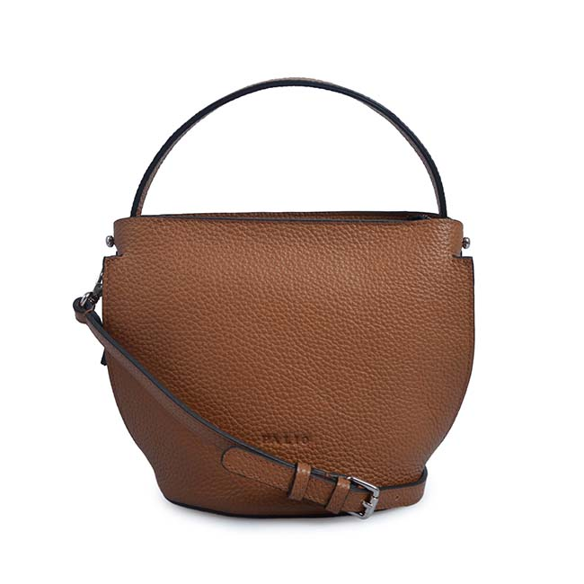 Bucket Shoulder Bag Women Genuine Leather Tote Bag