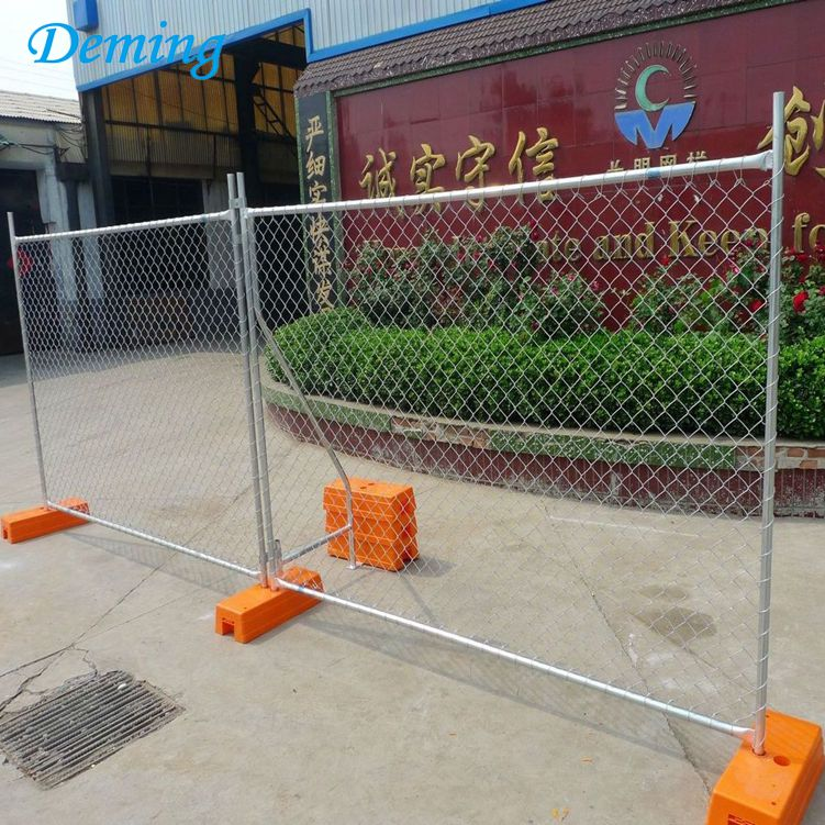 Factory Galvanized Chain Link Temporary Fence for Sale