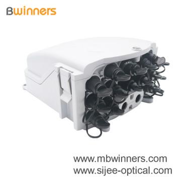 16-портовые FTTx предварительно соединенные коробки FTTA Nap Fibre Distribution Box
