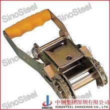 """2""""- 50mm Plastic Handle Gradual Release Ratchet Buckle"""