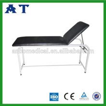 Back lifting folding examination bed