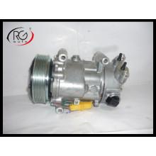 6c12 компрессор кондиционера для Citroen C3 / C4 Peugeot 207/307/308 OEM 6453qj / 6453qk / 6453wk