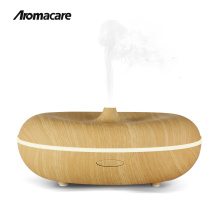 New Product Ideas 2018 Bluetooth Speaker Music 400ml Wood Finishing Aroma Essential Oil Diffuser Unique Amazon Top Seller