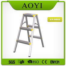 Aluminum folding step stool
