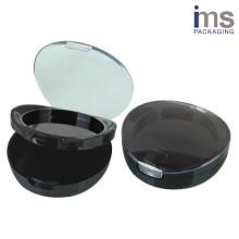Round Plastic Powder Compact Case
