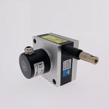 Salida de voltaje del codificador lineal de cable de tracción de 1500 mm