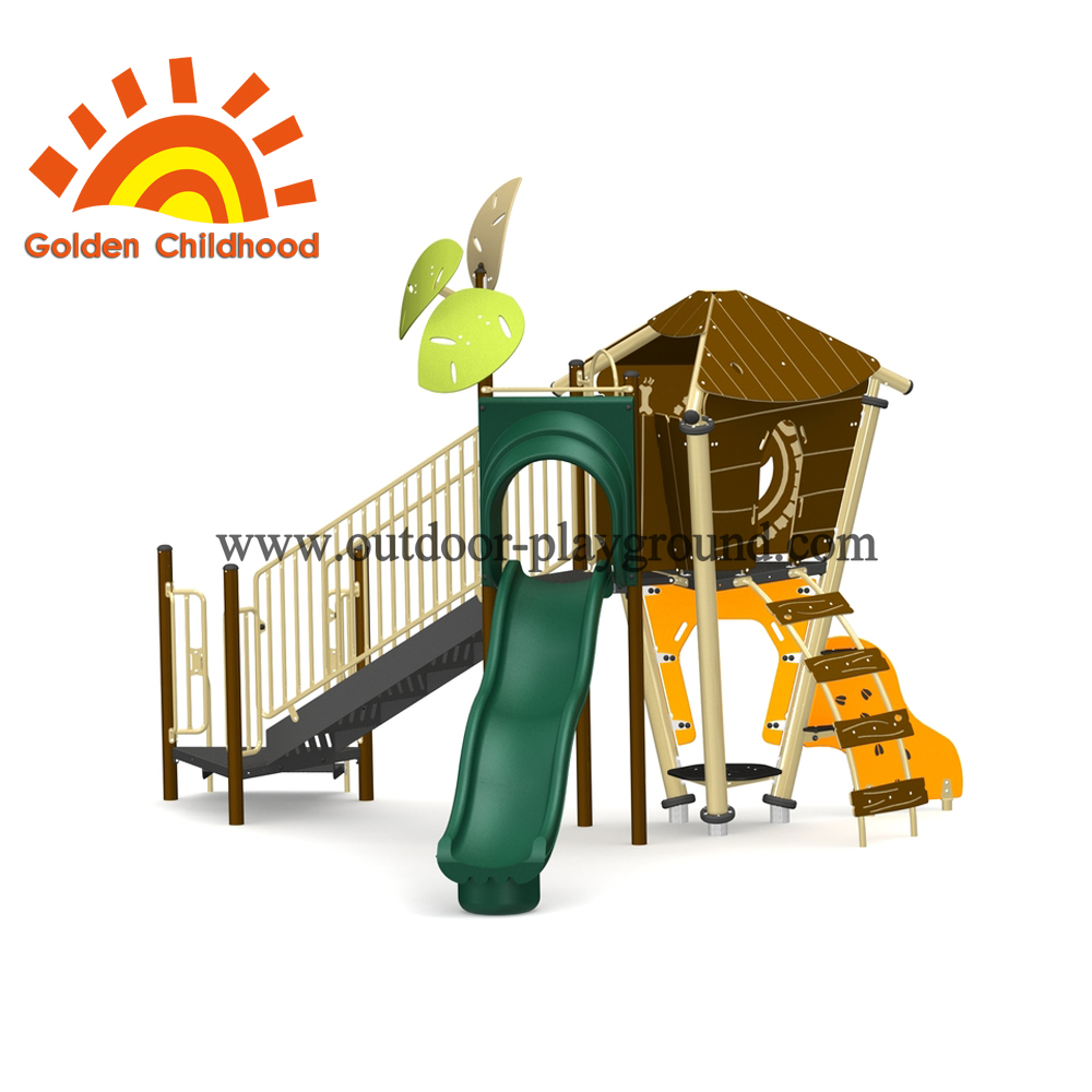 Natural Outdoor Playground Facility For Children