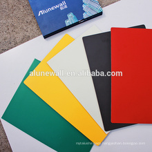 Waterproof interior wall decorative aluminum Plastic composite panel/acp panels