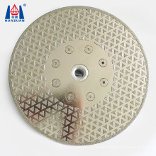 Super Thin Electroplated Diamond Saw Blade for Marble Cutting