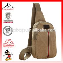 Lona Mens Messenger Bag Outdoor Viagem Caminhadas Esporte Homem Chest Bag Militar Bolsa de Ombro