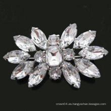 Broche de cristal nupcial del Rhinestone para las tarjetas de la invitación de la boda