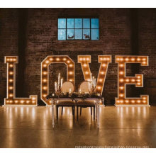 LED 4FT Marquee Letters LED Giant Light Box Sign Wedding